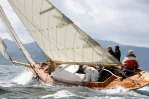 Lucky Girl auf der Fife Regatta in Schottland